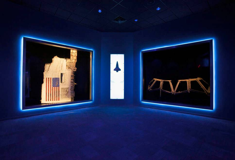 Shuttle Columbia debris collected in E. Texas goes on public display for first time 01