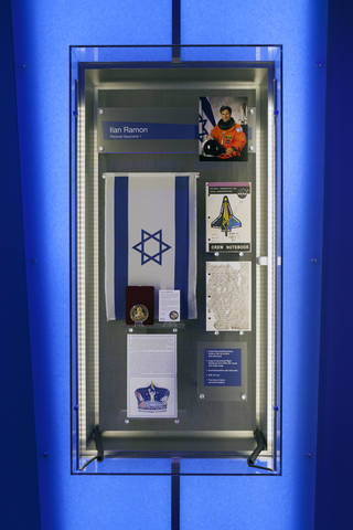 Shuttle Columbia debris collected in E. Texas goes on public display for first time 03