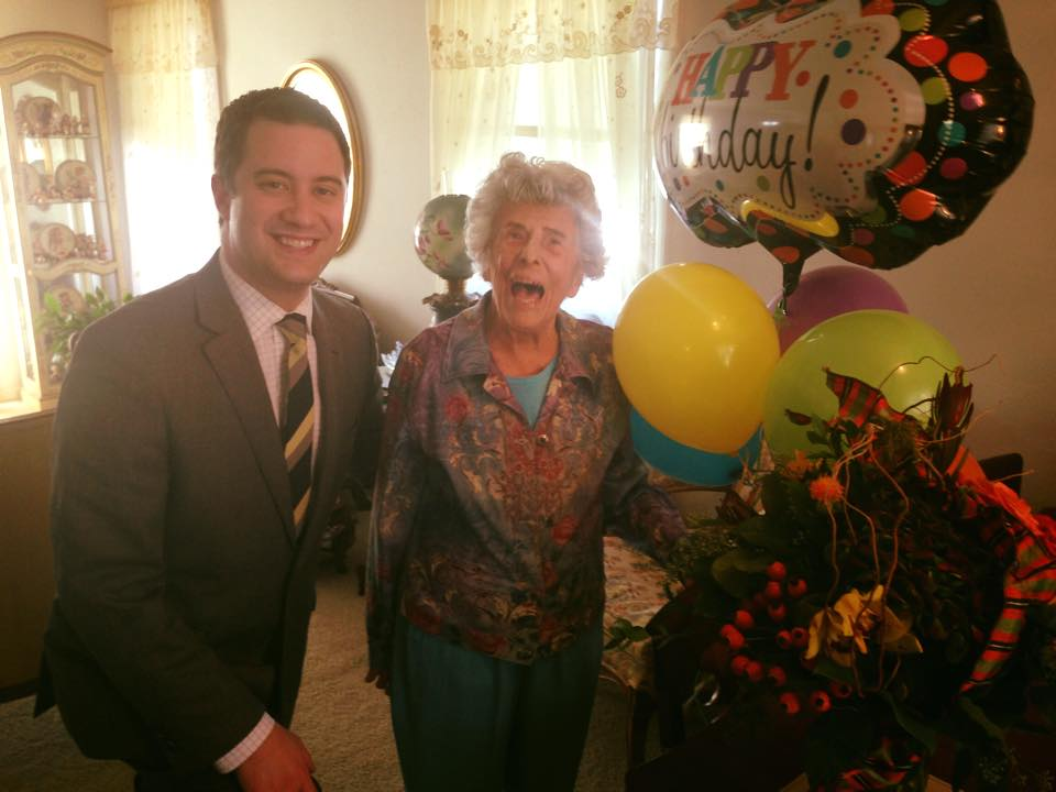 Advice from a 105-year-old with no intent of slowing down