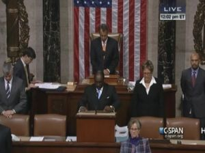 As guest chaplain, Rev. Milton delivered the invocation before a session of the U.S. House of Representatives in 2012.