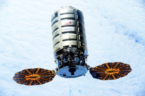The next Cygnus spacecraft to visit the International Space Station will be named S.S. Rick Husband, Orbital ATK announced Tuesday. (Source: NASA)
